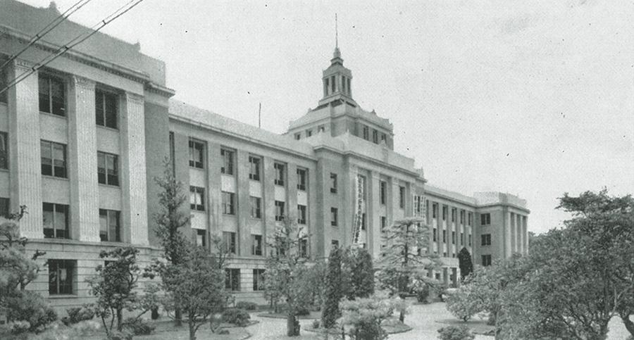... 県庁舎 大津 竣功・昭和14年5月
