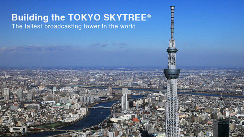 TOKYO SKYTREE Construction Project