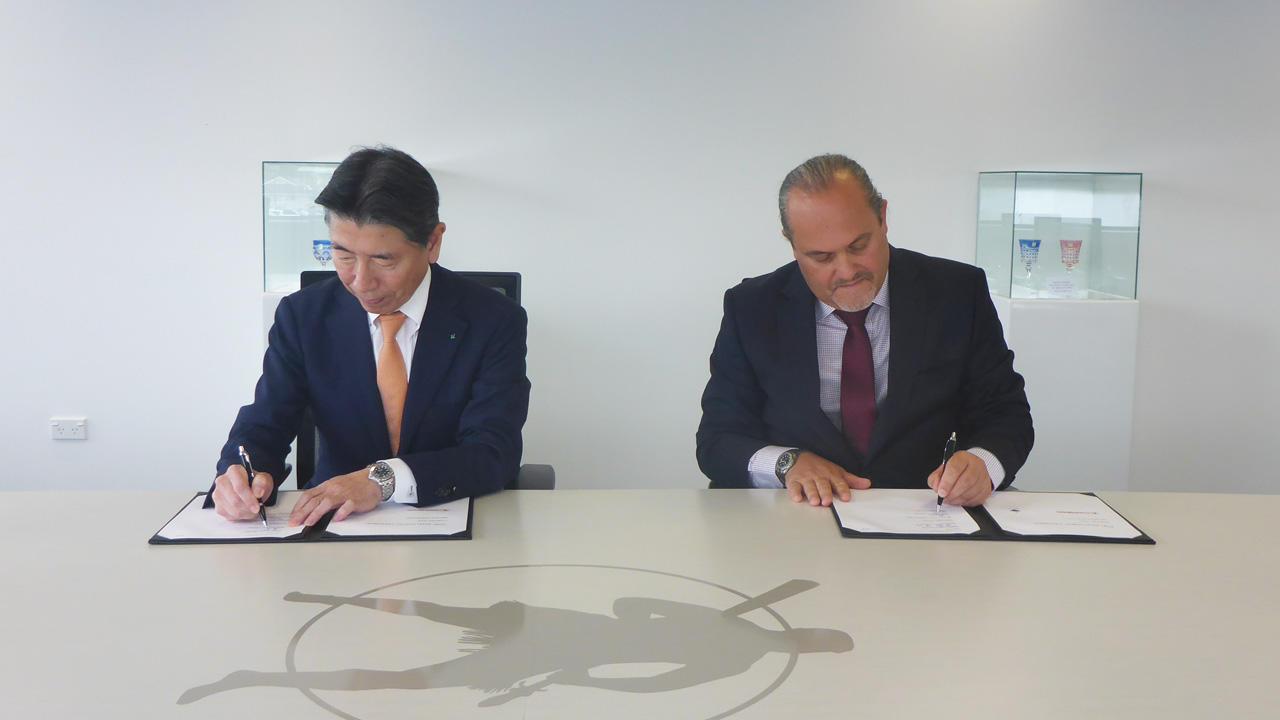 Joint development agreement signed with Tuaropaki Trust