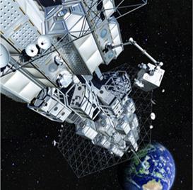 静止軌道ステーションは宇宙で膨張するユニットで構成されます