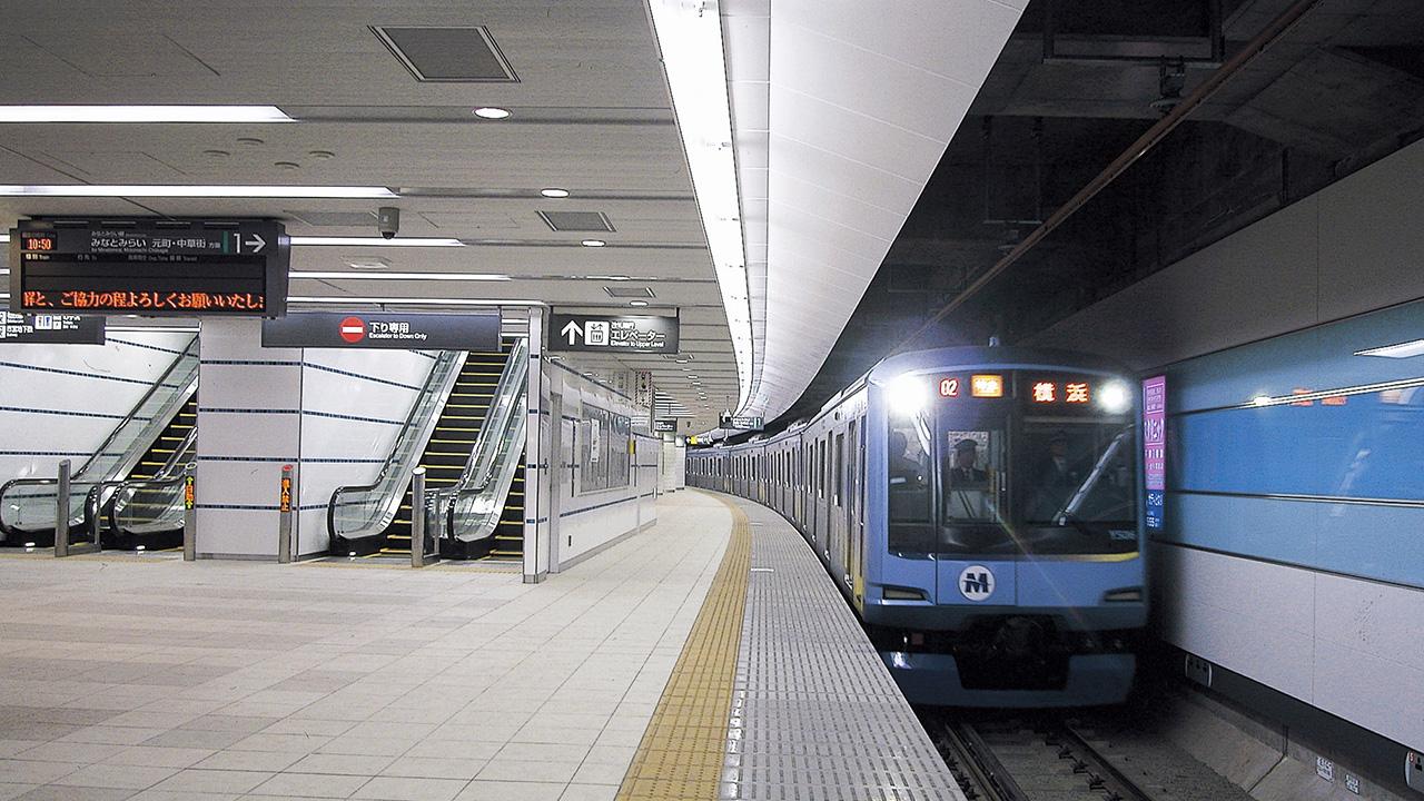 横浜地下駅 | 実績|大林組